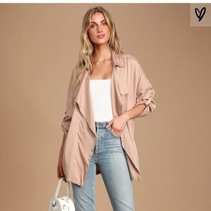Lulus Spring Blush Jacket